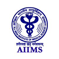 AIIMS Logo in Dark Blue color