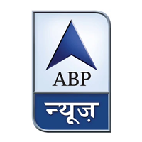 ABP news channel old logo with grey background