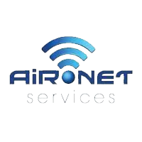 Aironet Services Logo with white background
