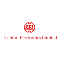 Central Electronics limited written in red color along with the company logo