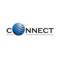 Connect logo with grey background