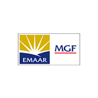 EMAAR MGF logo with white background