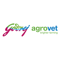 Goodrej Agrovet Logo with white and grey background