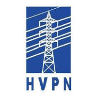 HVPN comapny logo in blue color with white background