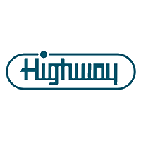Highway Company Logo in Dark teal green color