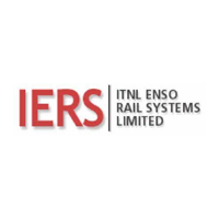 IERS Company LOGO in red and black color