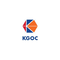 KGOC Company logo with grey background