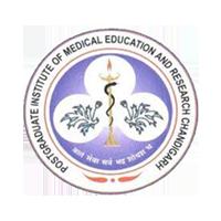 PGIMER Institute logo with grey background
