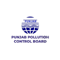 Punjab Pollution Control Board logo in Dark blue color