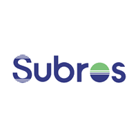 Subros Company Logo with Grey background