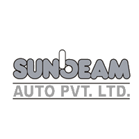 Sunbeam Auto Private limited Logo in grey color