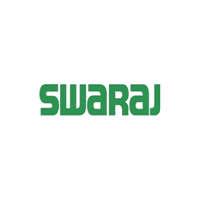 Swaraj Written in green Color