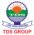 TDS Group Logo and at bottom TDS Group written in red color
