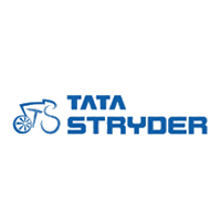 Tata Stryder logo in blue color