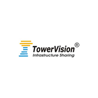 Tower vision Infrastructure sharing logo with white background