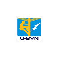 Logo of UHBVN with grey background