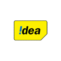 Idea company old logo in Yellow color with grey background