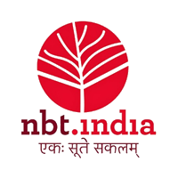 nbt.india company logo in red color